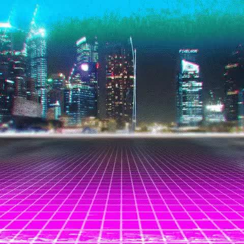 Watch and share Vaporwave Retrowave GIFs on Gfycat