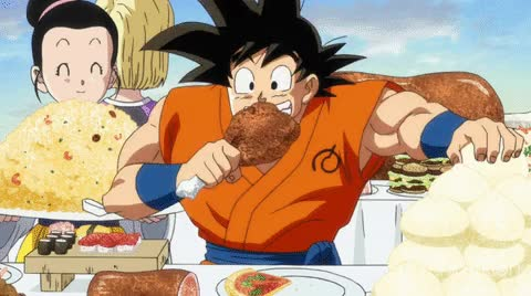 Watch DB Super Feast GIF by Funimation (@funimation) on Gfycat. Discover more related GIFs on Gfycat