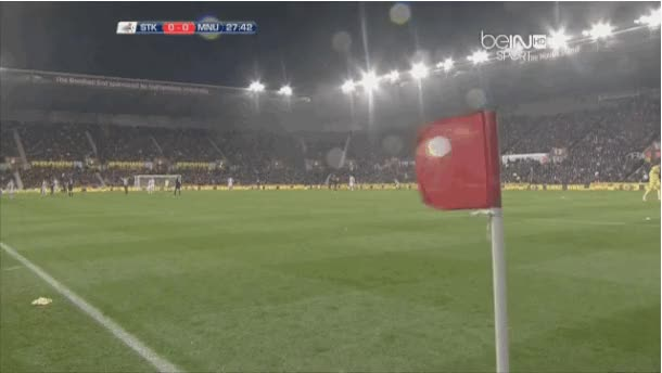 Watch and share Manchester United Vs Stoke City Hail Storm Delay animated stickers on Gfycat