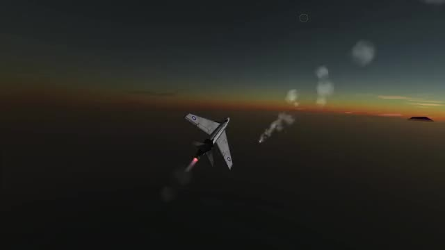 Watch Hunter F1 vs MiG 17 GIF by Z1 M4N (@z1_m4n) on Gfycat. Discover more BDArmoury, Dogfight, KSP, Kerbal Space program GIFs on Gfycat
