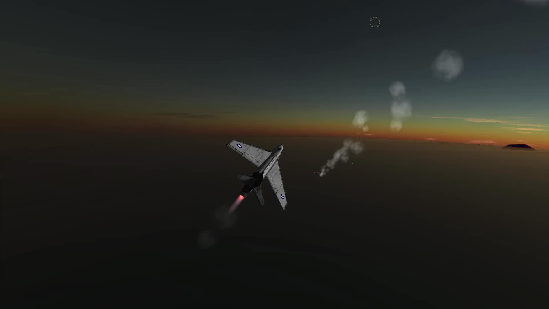 BDArmoury, Dogfight, KSP, Kerbal Space program, Hunter F1 vs MiG 17 GIFs