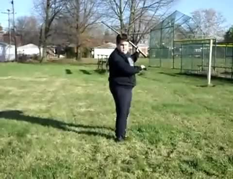 Watch and share Fat Kid + Sword + Ponytail + Sweats = Magic GIFs on Gfycat