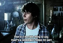 Watch die with a grin; GIF on Gfycat. Discover more *devon bostick, *gifs, april mullen, becky fords, brandon jay mclaren, brittany allen, casper galloway, charlotte baker, dazzle darlington, dead before dawn, devon bostick, face: devon bostick, favorite: faces, gif: dbd, kyle schmid, lucy winthrop, martha macIsaac, my shit, patrick bishop, seth munday, tim doiron GIFs on Gfycat