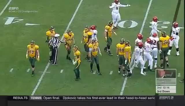 2016 FCS Championship Jacksonville State vs North Dakota State GIFs