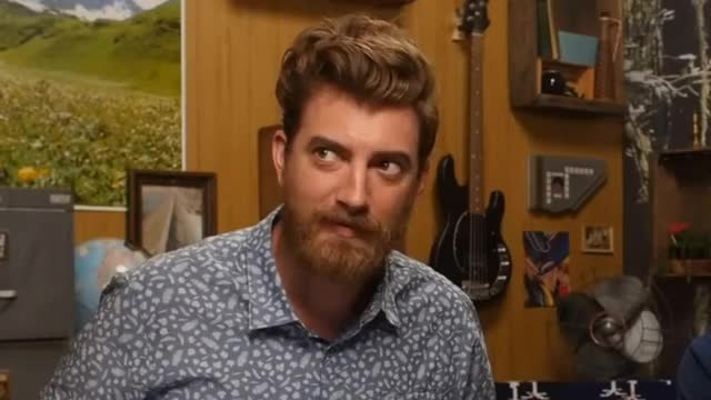 Watch this side glance GIF on Gfycat. Discover more Gmm, celebs, rhett mclaughlin, youresoloud GIFs on Gfycat