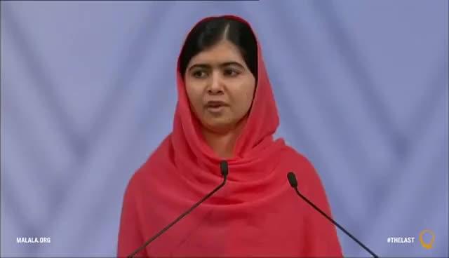 Watch and share Malala Yousafzai Nobel Peace Prize Speech GIFs on Gfycat