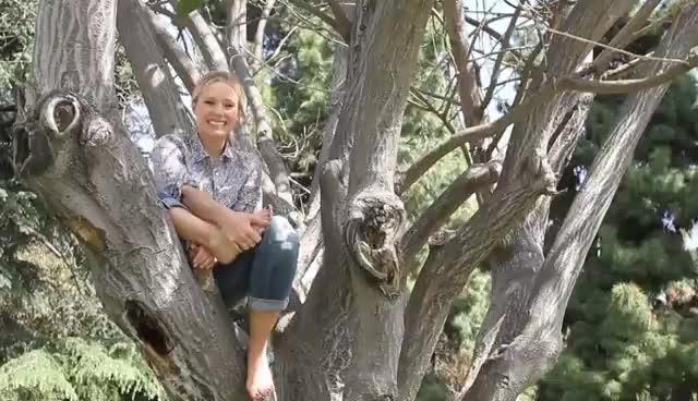 Kristen Bell Barefoot GIFs