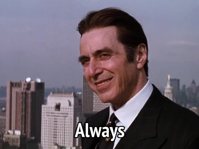 Watch and share Al Pacino GIFs and Celebs GIFs by MikeyMo on Gfycat