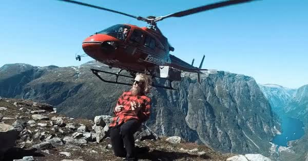 Watch Heli Airguitar from Norway GIF on Gfycat. Discover more related GIFs on Gfycat
