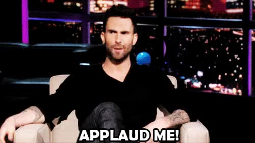 Watch and share Adam Levine GIFs on Gfycat