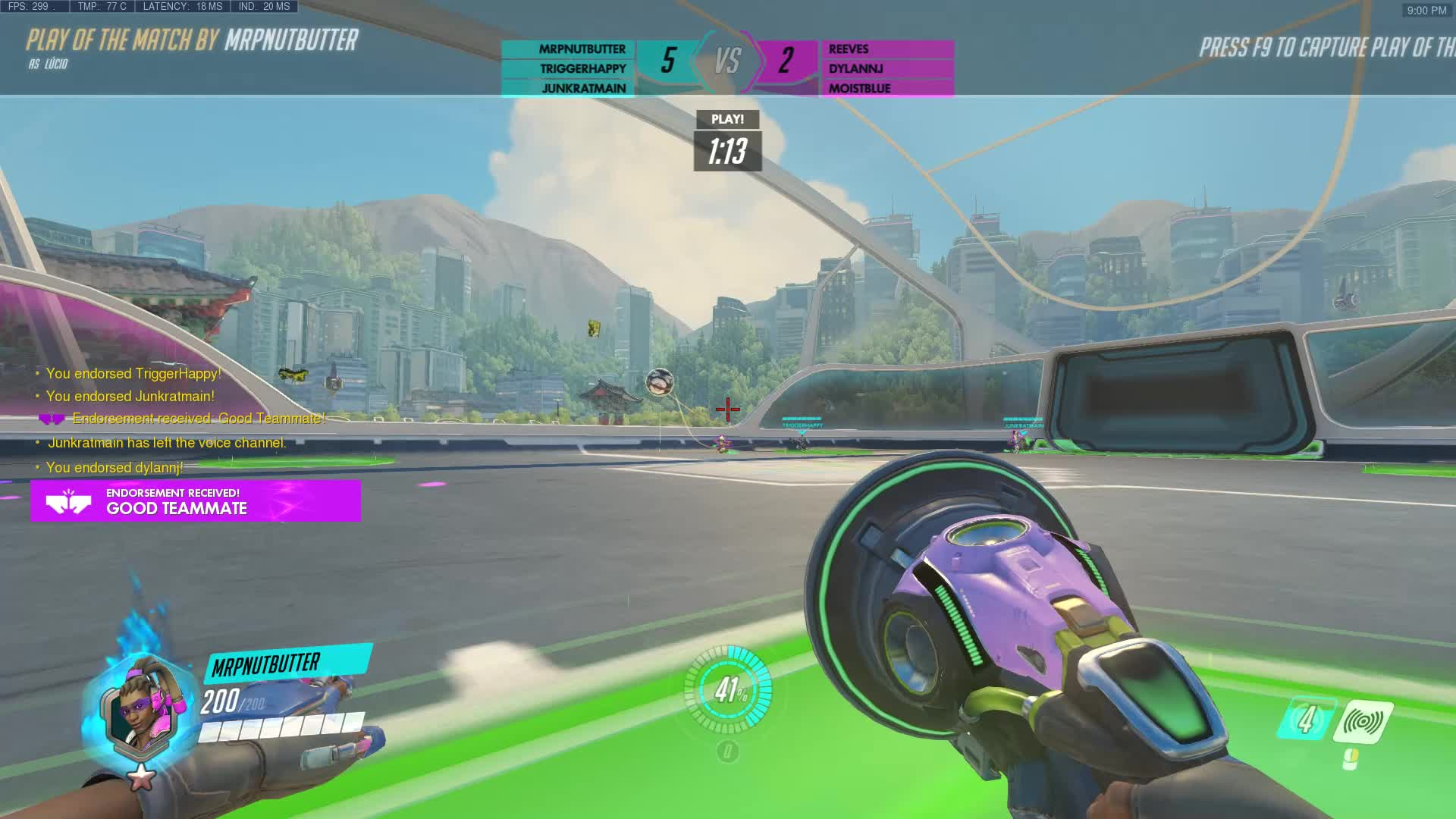 lucio, lucioball, overwatch, potg, When you fat finger DPI but you're still a god GIFs