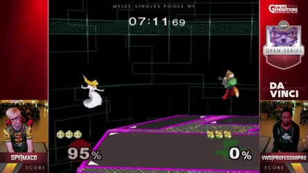 Watch Professor Pro wall jump upair vs MacD • r/smashgifs GIF on Gfycat. Discover more related GIFs on Gfycat