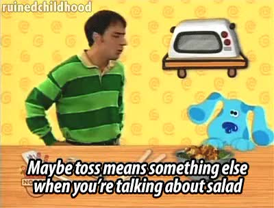 Watch and share Toss Salad GIFs on Gfycat