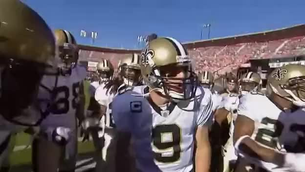 Watch this new orleans saints GIF on Gfycat. Discover more drew brees, new orleans saints, pregame chant GIFs on Gfycat