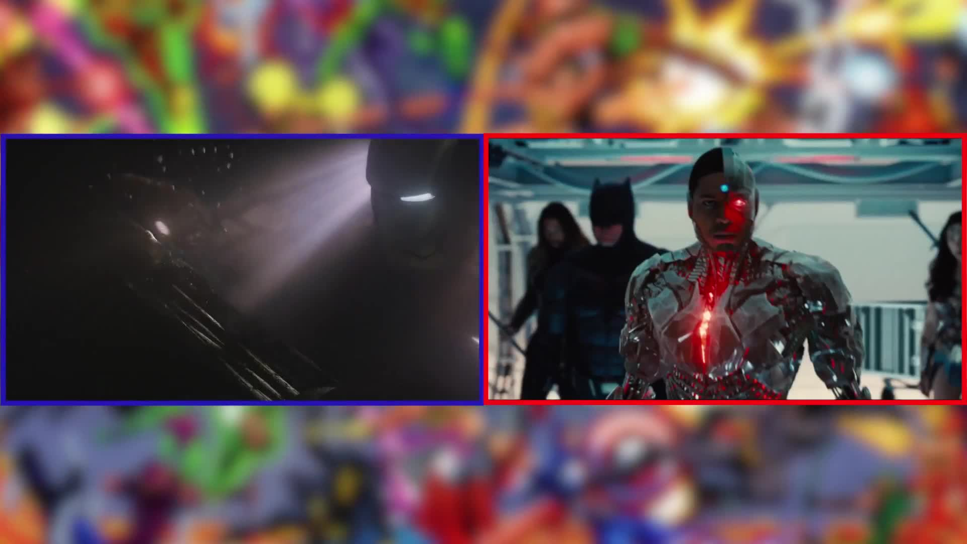 avengers, avengers justice league similarities, joss whedon, justice league avengers similarities, justice league movie, justice league versus avengers, justice league vs avengers, marvel cinematic universe vs dc extended universe, robert downey jr, superman, zack snyder, Justice League: Every Similarity to The Avengers GIFs