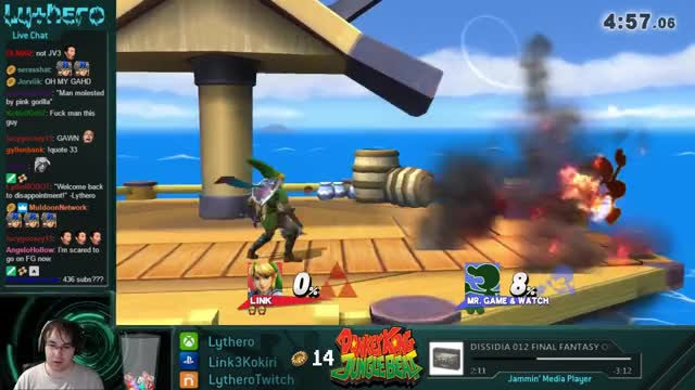 Game and Watch too much for Lythero