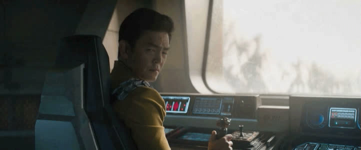 BigJ76, Hikaru Sulu, John Cho, Star Trek, Star Trek Beyond, When a customer says they don't know their phone number because they don't call themselves GIFs