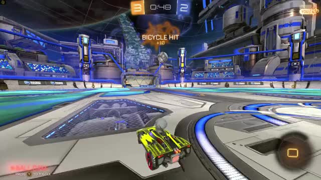 Watch Rocket Golf GIF by @sonofaselkie on Gfycat. Discover more highlightgif, rocketleague GIFs on Gfycat