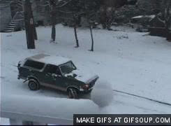 Seattle snow drivers GIFs