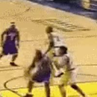 Watch O'neal blocks O'neal - Jermaine O'neal blocks Shaquille O'neal - gif GIF on Gfycat. Discover more related GIFs on Gfycat