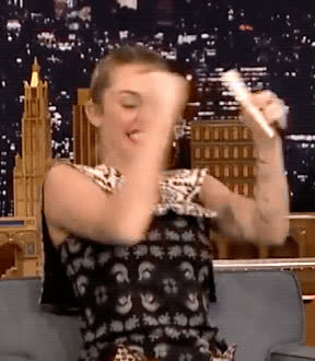 excited, happy, miley cyrus, tonight show, yas, yes, Miley Cyrus Yes GIFs
