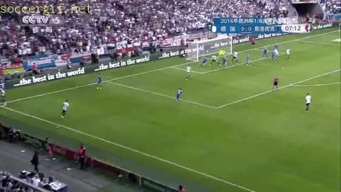 Watch and share Euro Jun Germany Slovakia Boateng Goal GIFs on Gfycat