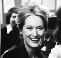 Watch and share Meryl Streep GIFs and Laughing GIFs on Gfycat
