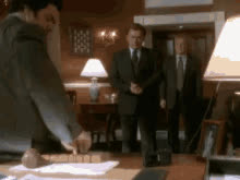 West Wing Lawyers Hate Tape Recorders. GIFs