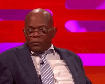 Watch and share Graham Norton Show GIFs and Samuel L Jackson GIFs on Gfycat