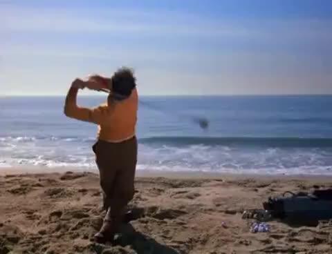 fail, golf, kramer, michael richards, seinfeld, Cozmo Kramer GIFs