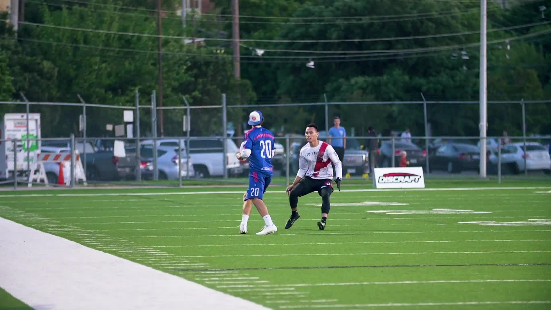 american ultimate disc league, audl, ultimate, ultimate frisbee, Aaron Weaver Layout Block GIFs