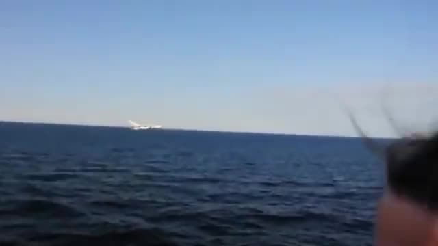 Watch and share U.S. Navy Ship Encounters Aggressive Russian Aircraft In Baltic Sea DSC 0002 GIFs on Gfycat