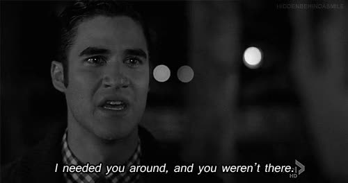 Watch and share Glee, I Needed You, Where Have You Been GIFs on Gfycat