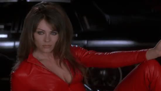 elizabeth hurley, Bedazzled Elizabeth Hurley I can see we are going to get along famously cheers darling gif GIFs