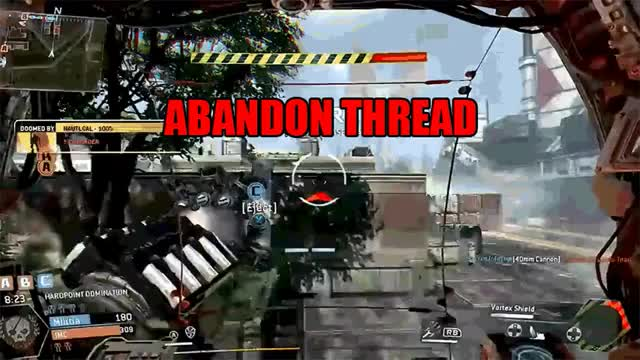 Watch Can someone make an Abandon Thread gif of ejecting from a Titan? (reddit) GIF on Gfycat. Discover more gaming, titanfall GIFs on Gfycat