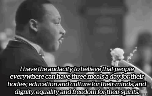 Watch and share Mlk GIFs by Reactions on Gfycat