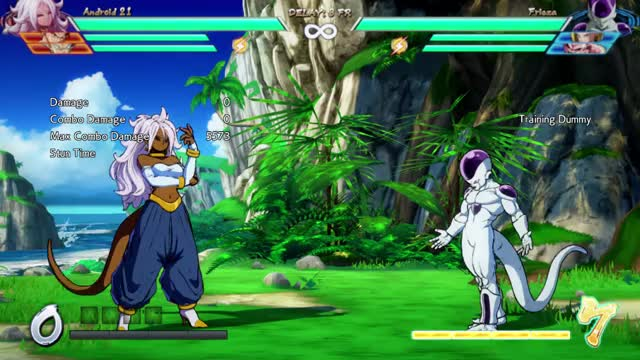 Watch DBFZ Andriod 21 BnB 2 GIF on Gfycat. Discover more related GIFs on Gfycat