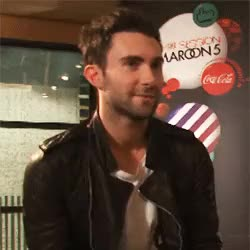 Watch remember when GIF on Gfycat. Discover more adam levine, hes so adorable, look at his smile GIFs on Gfycat