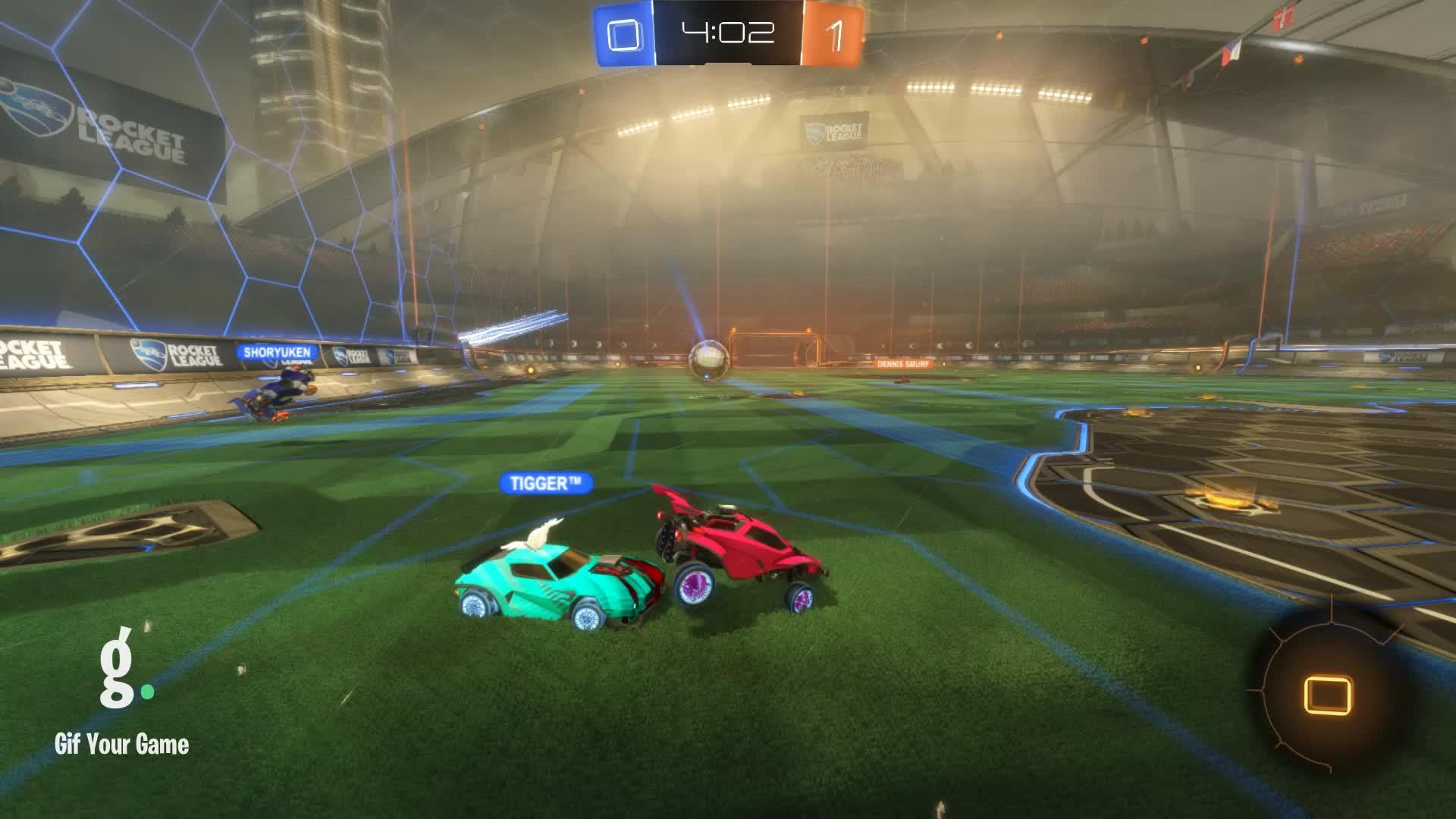 Gif Your Game, GifYourGame, Goal, Rocket League, RocketLeague, snus, Goal 2: TiggeR™ GIFs