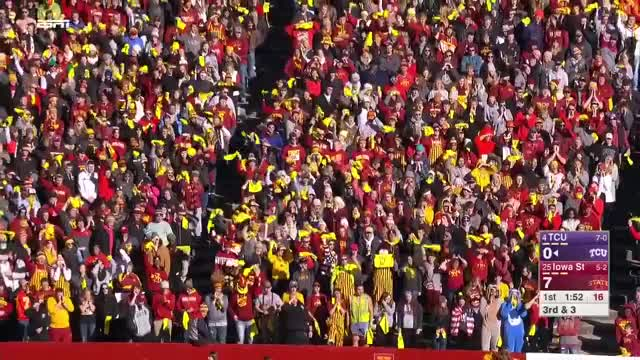 Watch and share Iowa State Cyclones - Run Stop Adv 1 GIFs by LandGrant Gauntlet on Gfycat