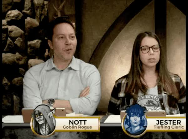 Watch and share Geek And Sundry GIFs and Critical Role GIFs by AnotherMatt on Gfycat