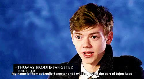 Watch and share Thomas Sangster GIFs and I'd Tap That GIFs on Gfycat