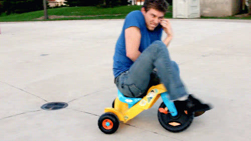 Corey Vidal, CoreyVidal, bike, cell, fail, fall, kid's, phone, Fall GIFs
