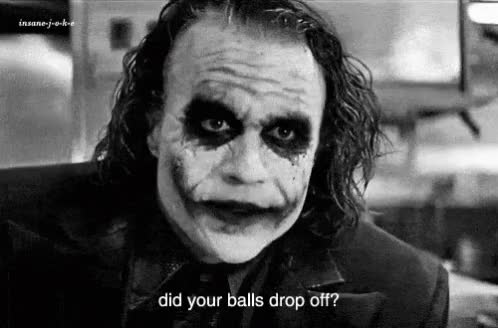 Watch this joker GIF on Gfycat. Discover more heath ledger, joker, the joker GIFs on Gfycat