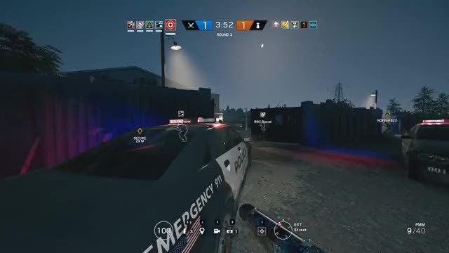 Watch and share Rainbow 6 Siege - Lamp Post Destroys Drone GIFs on Gfycat