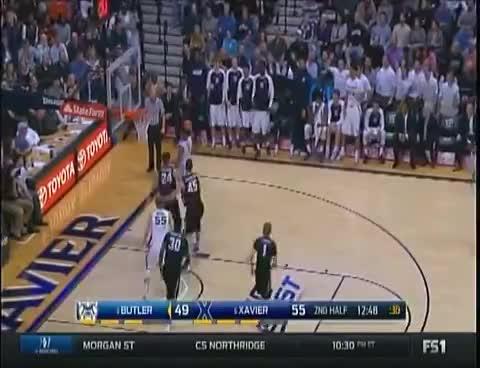 College Basketball 010216-Butler vs. Xavier GIFs