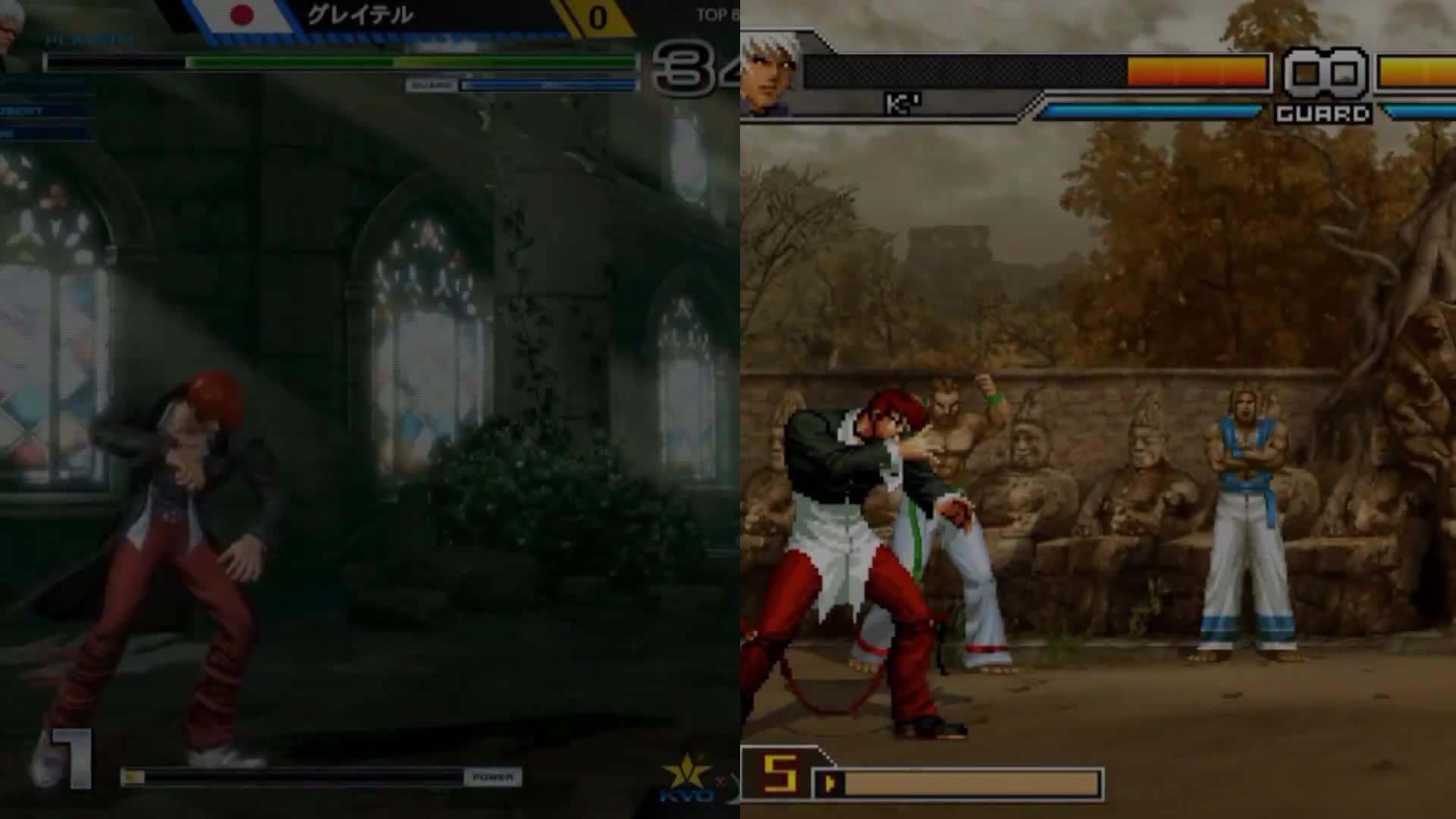 kof xiv comparision, kof xiv vs kof 2002, the king of fighters xiv comparision, KOF XIV COMPARISON WITH KOF 2002, XIII and WING GIFs