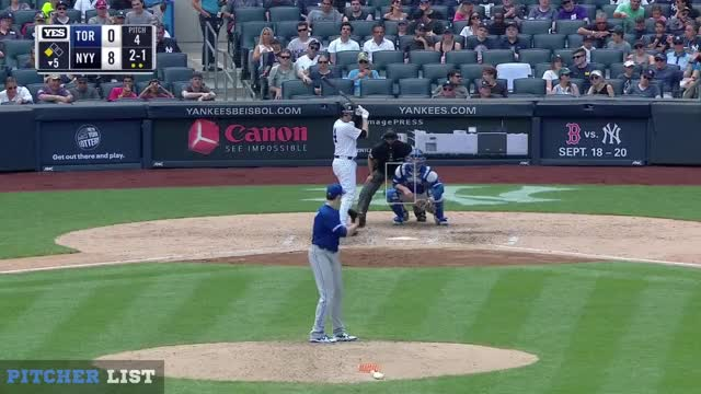 Watch and share Toronto Blue Jays GIFs and Baseball GIFs on Gfycat