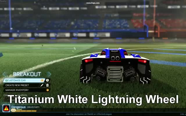 Watch Titanium White Lighting Wheel GIF on Gfycat. Discover more rocketleague, rocketleagueexchange, titanium white lightning wheel GIFs on Gfycat