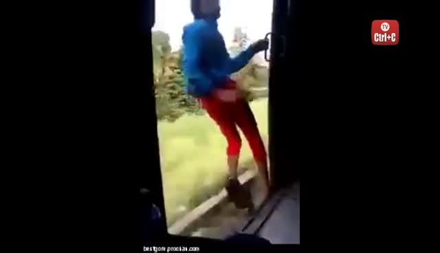train surfing, train surfing GIFs